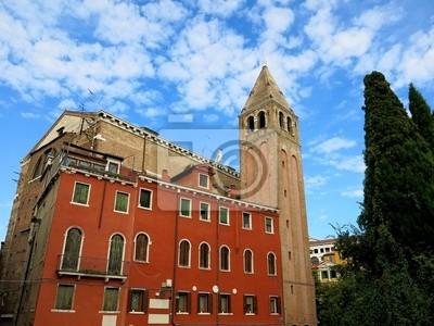 Church Sky Clouds Venice