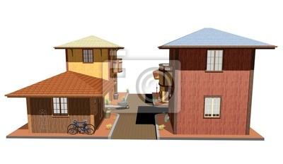 Città-Villaggio-Town-City-3D-2