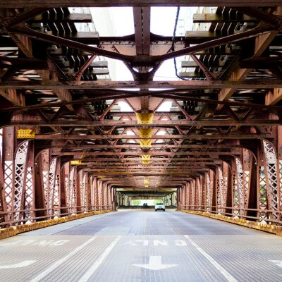 Wall mural City Bridge