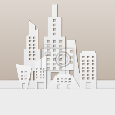 Wall mural Cityscape