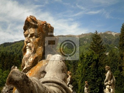 Wall mural Classical Statues with Nature