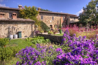 Wall mural Classical Tuscan country house