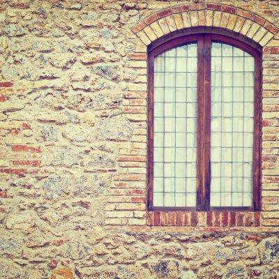 Wall mural Closed Window
