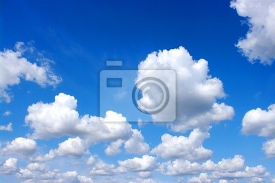 Wall mural clouds
