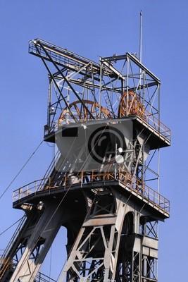 Wall mural Coal mine shaft