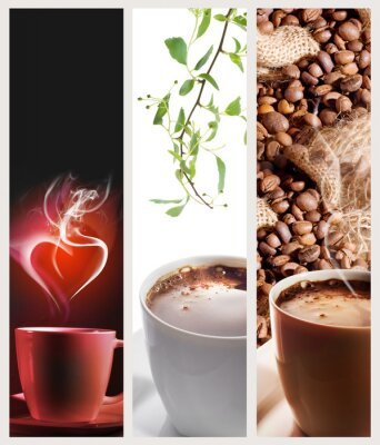 Coffee vertical banners