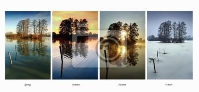 Collection four season - Spring, Summer, Autumn, Winter