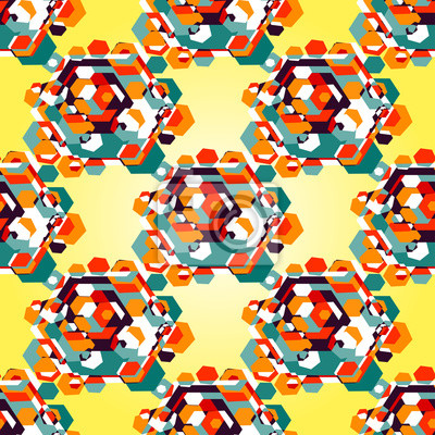 color diamond pattern background