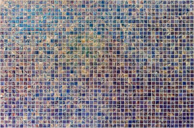 Wall mural Colored tiles