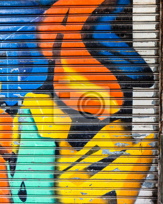 Colorful abstract graffiti background