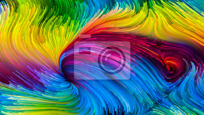 Colorful Paint Artificial
