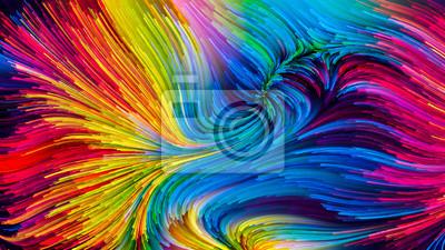 Colorful Paint Illusion