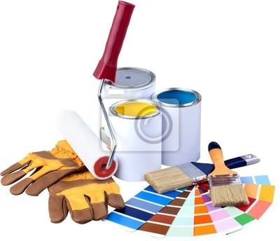 Colour Spectum Samples and Paint