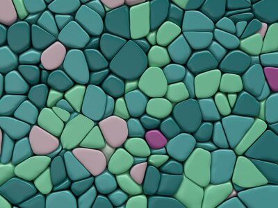 Wall mural colour stone texture