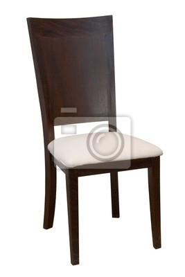 Comfortable chair on a white background