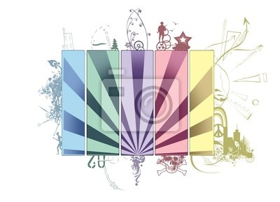 conceptual background, five elements of earth