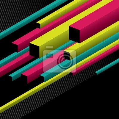 Conceptual background with geometrical elements.