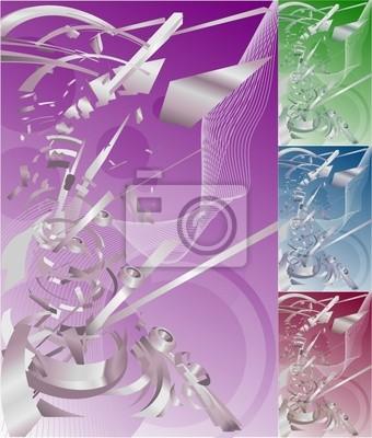 conceptual futuristic background