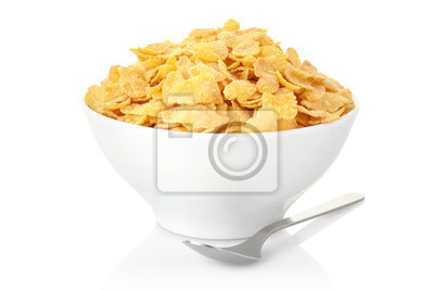 Wall mural Corn flakes bowl