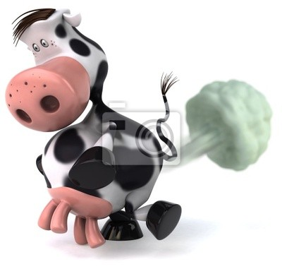 Cow and ozone