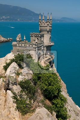 Wall mural Crimea -  Swallow's Nest castle