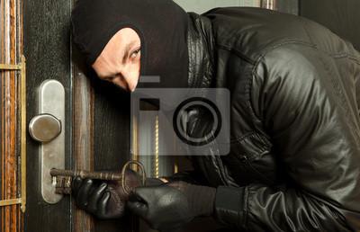 Criminals key in burglary