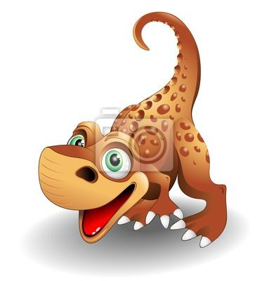 Cucciolo -Baby Dinosaur dinosaur -2 -Vector
