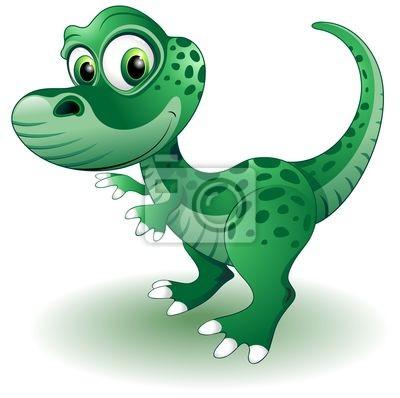 Cucciolo -Baby Dinosaur dinosaur -Vector