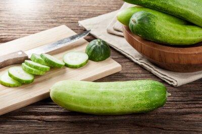 Wall mural cucumbers