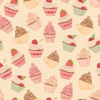 Wall mural Cupcakes
