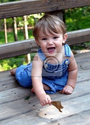 cute kid in blue overalls 2
