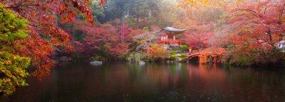 Wall mural Daigo-ji temple in autumn