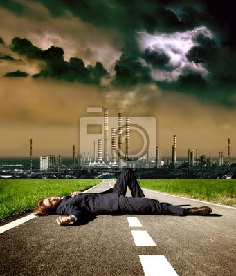 dead man on the street