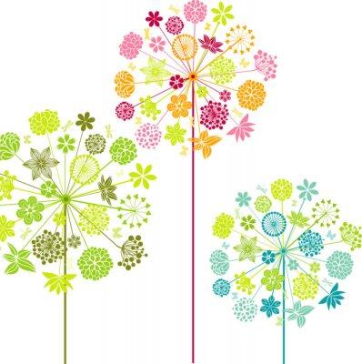 Wall mural Decorative dandelions