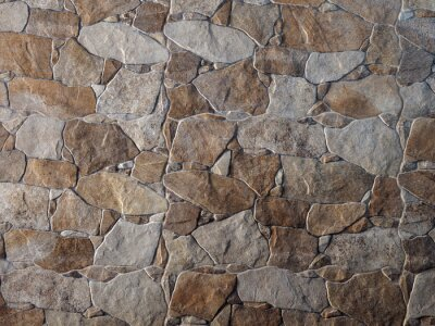 Wall mural Decorative stone wall