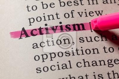 definition of activism