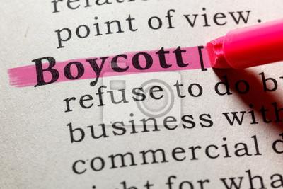 definition of boycott