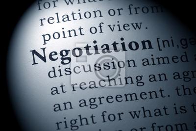 definition of negotiation