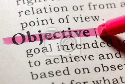 definition of objective