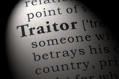 definition of traitor