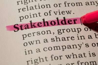 definition of word stakeholder