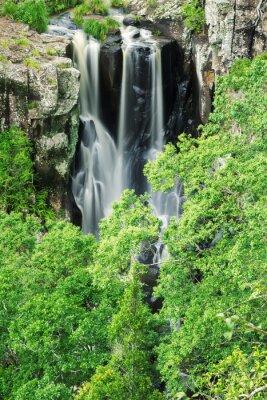 Wall mural Denham Falls in Beechmont, Queensland, Australia. Located in the Denham Reserve.