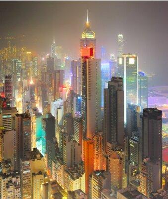 Wall mural Density Hong Kong
