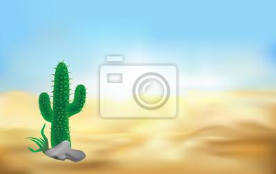 desert baclground vector illlustration