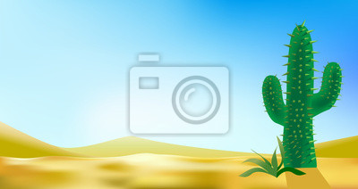 desert landscabe vector background