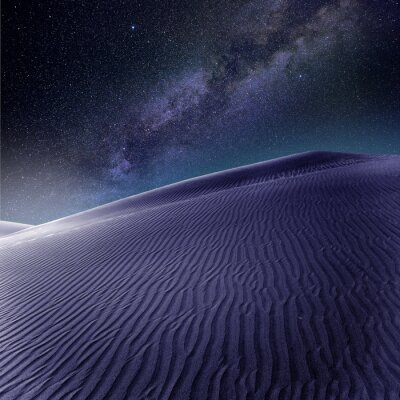 Wall mural Desert sand dunes in Maspalomas Gran Canaria
