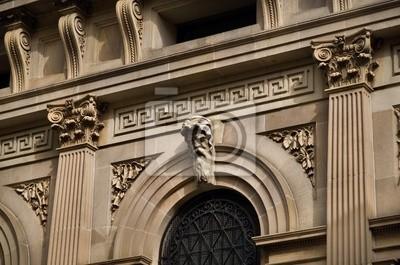 Details of very ornate Sandstone building