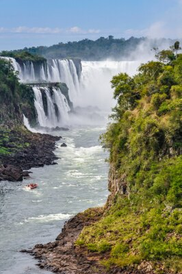 Wall mural Devil's Throat, Iguazu Falls, Argentina