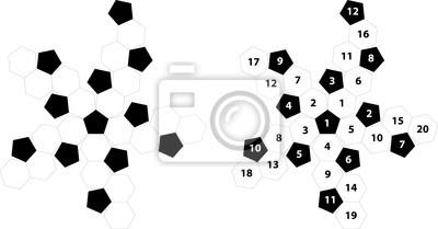 diagram form footballs
