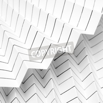 Wall mural dizzy lined folded paper office boredom background